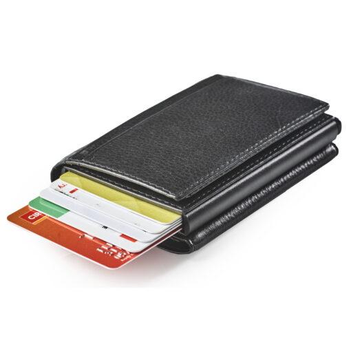 skub op pung og kortholder